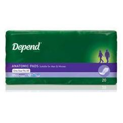 Depend Anatomic - Super, Pkt 15