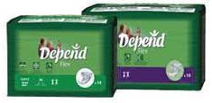 Depend Flex Super + Med 8741, Pkt 56