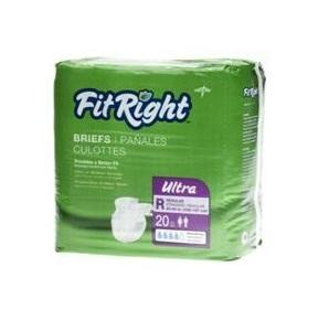FitRight Ultra Briefs Regular 20pk, Pkt 20