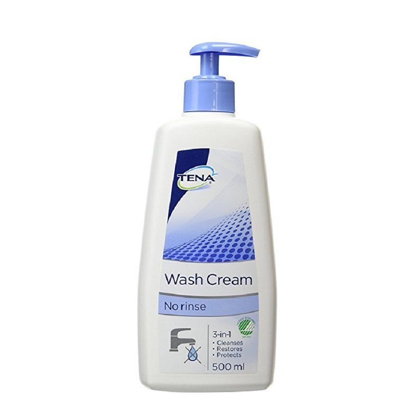 TENA WASH CREAM 500ML EACH