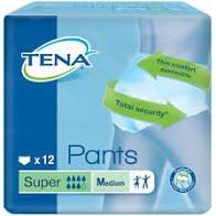 TENA PANTS SUPER MEDIUM, PKT 12