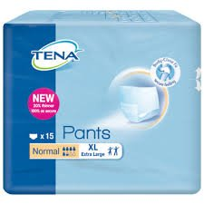 TENA PANTS NORMAL X-LARGE, PKT 15