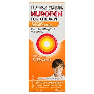 NUROFEN CHILD 5-12Y ORANGE 200ML, BOTTLE