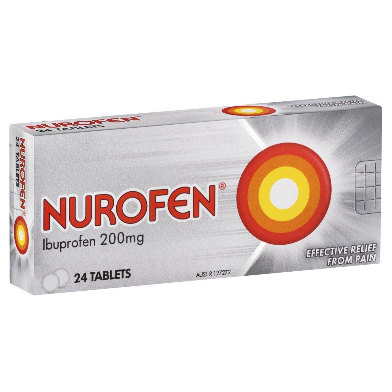 Nurofen 200MG Tablets Box 24
