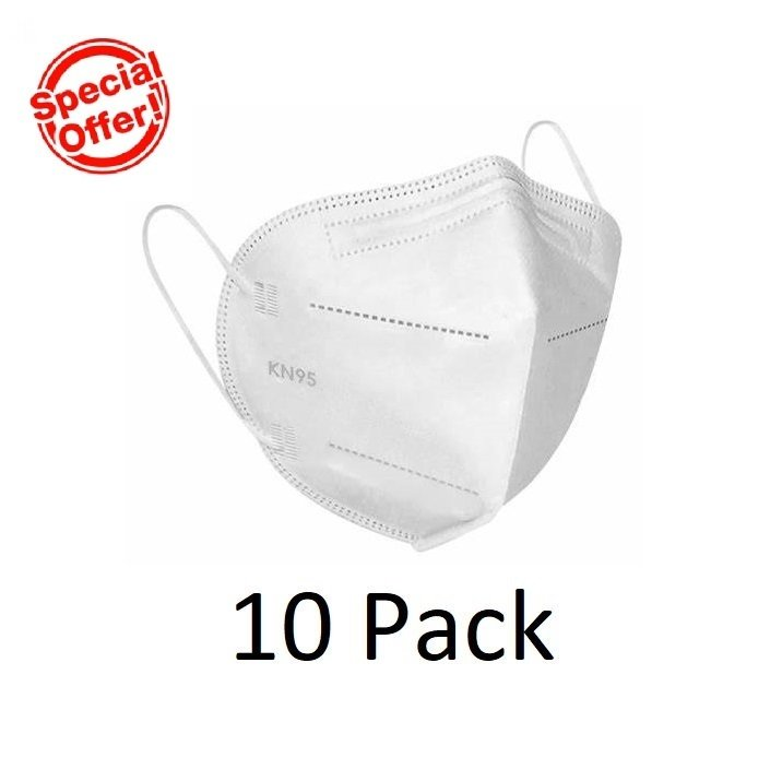KN95 FACE MASK, PACK 10
