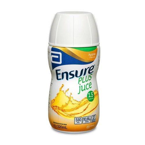 Ensure Plus Juice Apple Bottle 220mL, Box 30