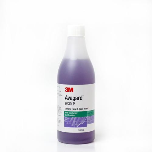 AVAGARD HAND & BODY WASH 500ML 9230-P, EACH