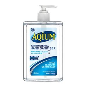 Aqium Anti-Bact Hand Gel 1L, each