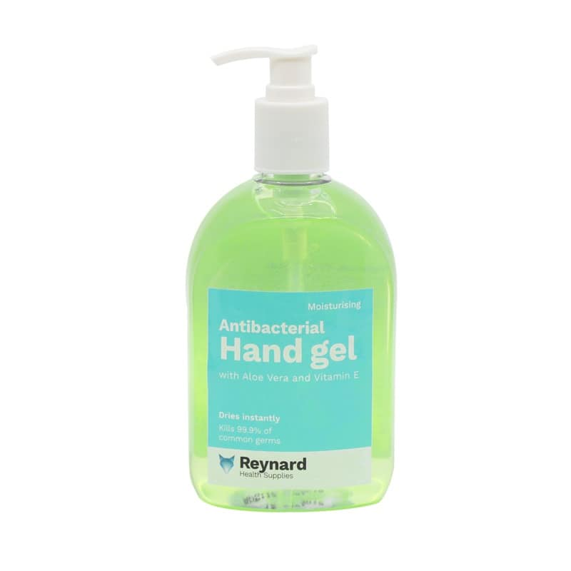 ANTIBACTERIAL HAND GEL REYNARD 500ml, EACH