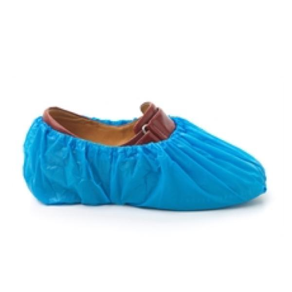 Overshoes Non-Slip Blue, Pack 100