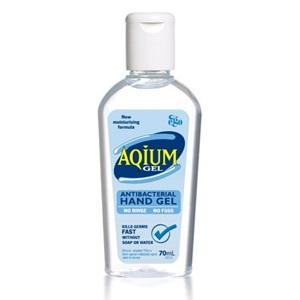 AQIUM ANTI-BACTERIAL HAND GEL 60ML EACH