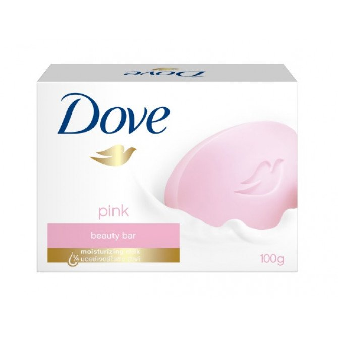 DOVE BEAUTY CREAM SOAP BAR PINK 100G, Each