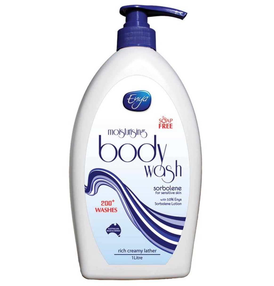 Enya Body Wash Sorbolene 1 Litre, each