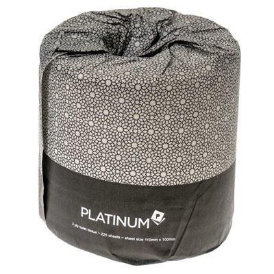 PLATINUM TOILET ROLL 2 PLY 400 SHEET, CTN 48