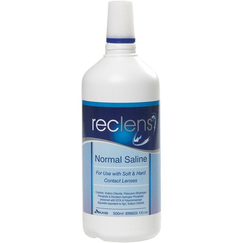 RECLENS NORMAL SALINE 500ML, EACH
