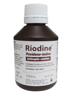 Riodine Pov-Iodine Solution 10% 100ml