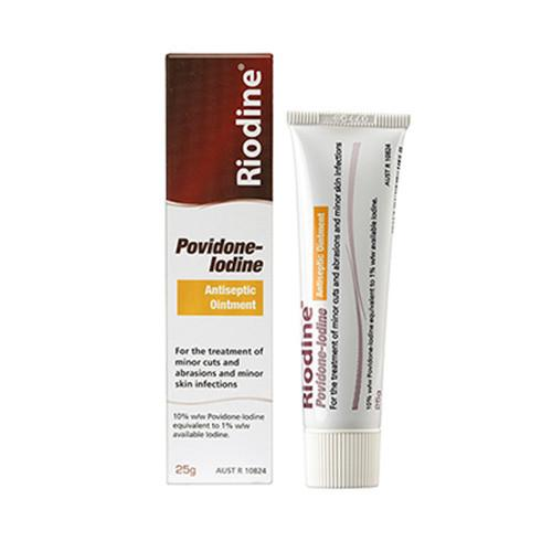 Riodine Antiseptic Ointment 25g