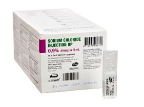 SODIUM CHLORIDE FOR INJECTION 0.9% 5ML BOX 50