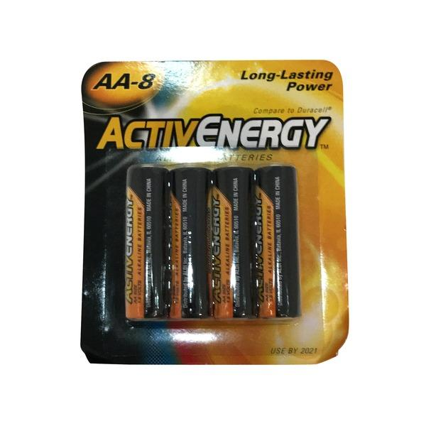 Activ Energy AA Batteries, Pkt 4
