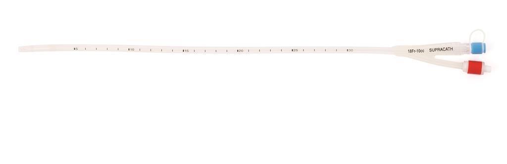 SUPRAPUBIC CATHETER SILICONE MALE 16G 40CM, EACH
