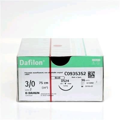 DAFILON 3/0 DS19 75cm, Box36