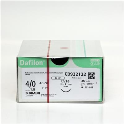 DAFILON 4/0 DS16 45CM, BOX 36
