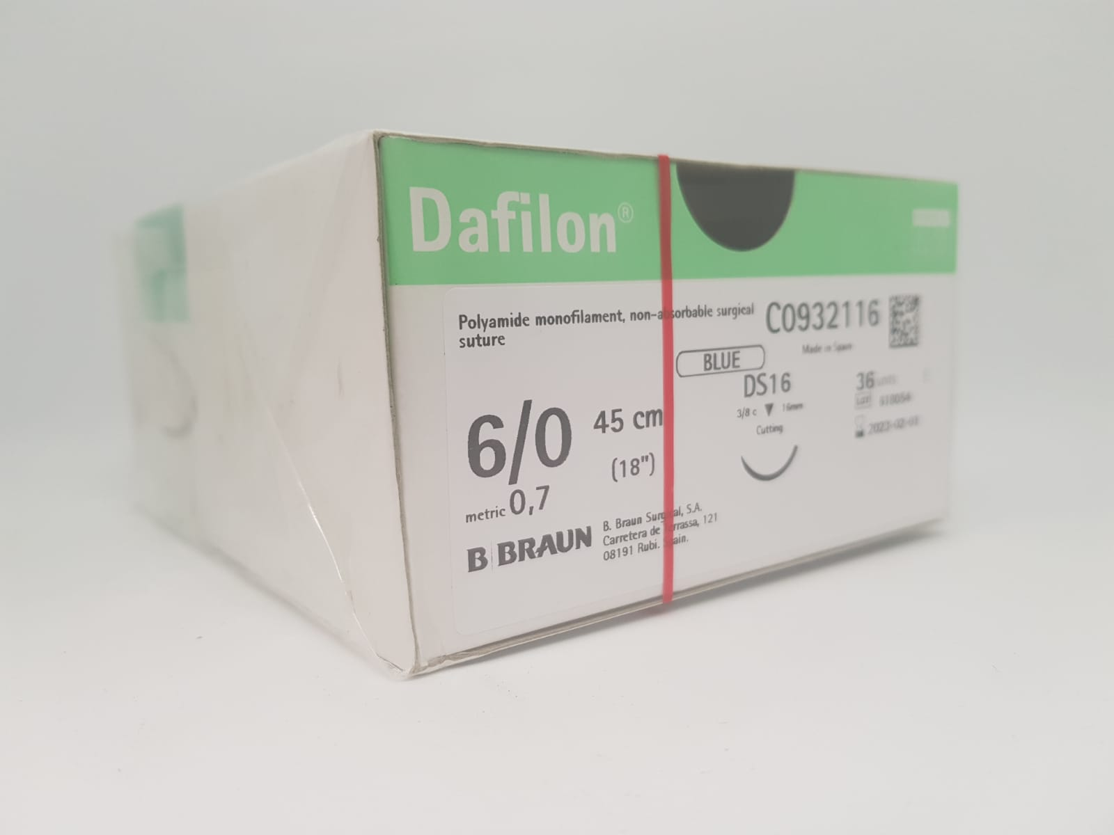 DAFILON 6/0 DS16 Blue 45cm, Box36
