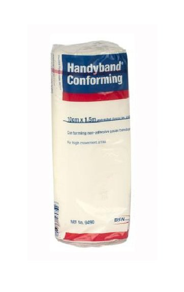 HANDYBAND CONFORMING BANDAGE 10CMx1.5M, PKT 12