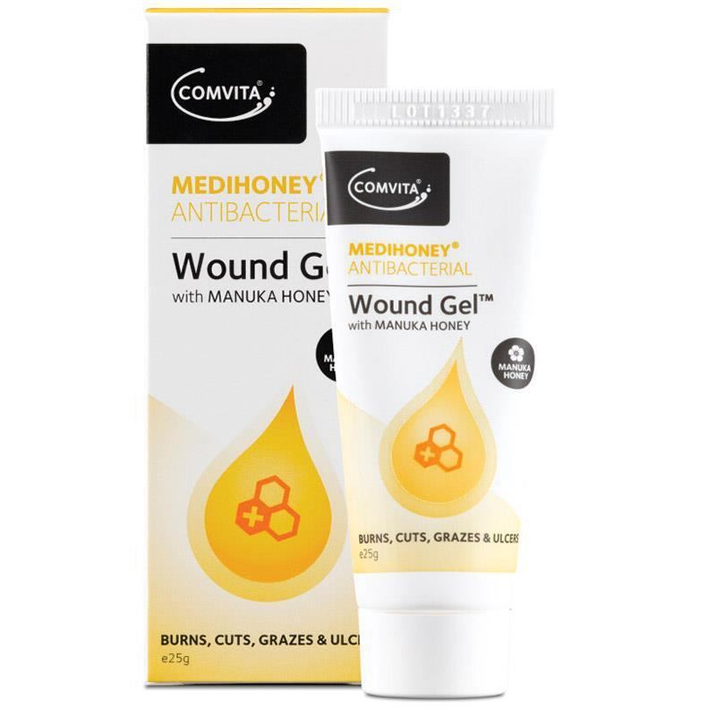 MEDIHONEY ANTIBACTERIAL WOUND GEL 25G TUBE, EACH