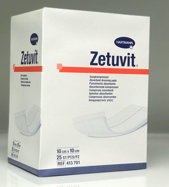 ZETUVIT 10CMx10CM, BOX 25