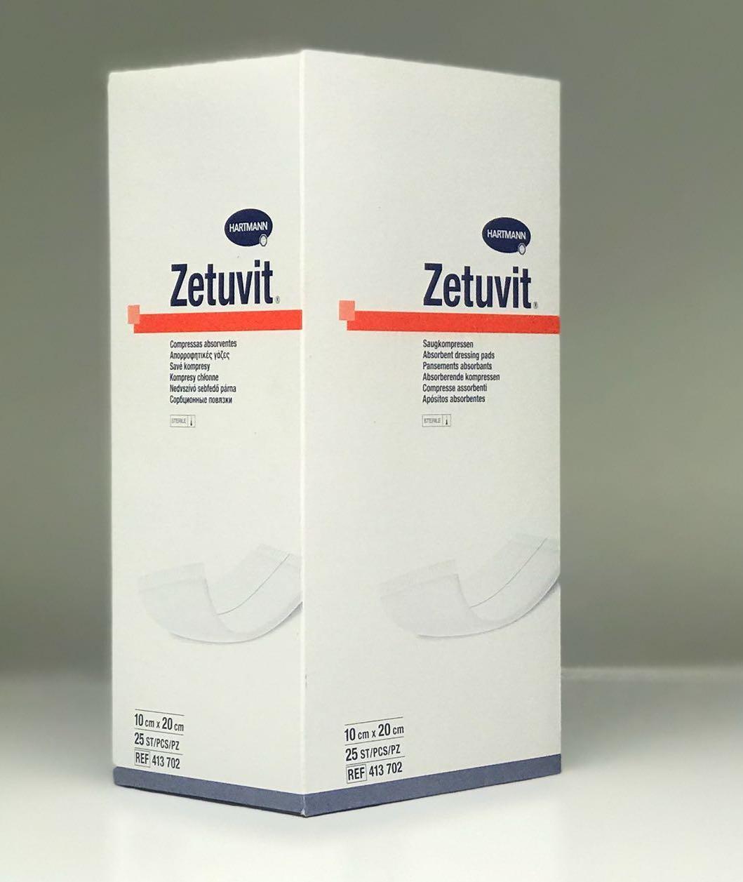 ZETUVIT 10CMx20CM BOX 25