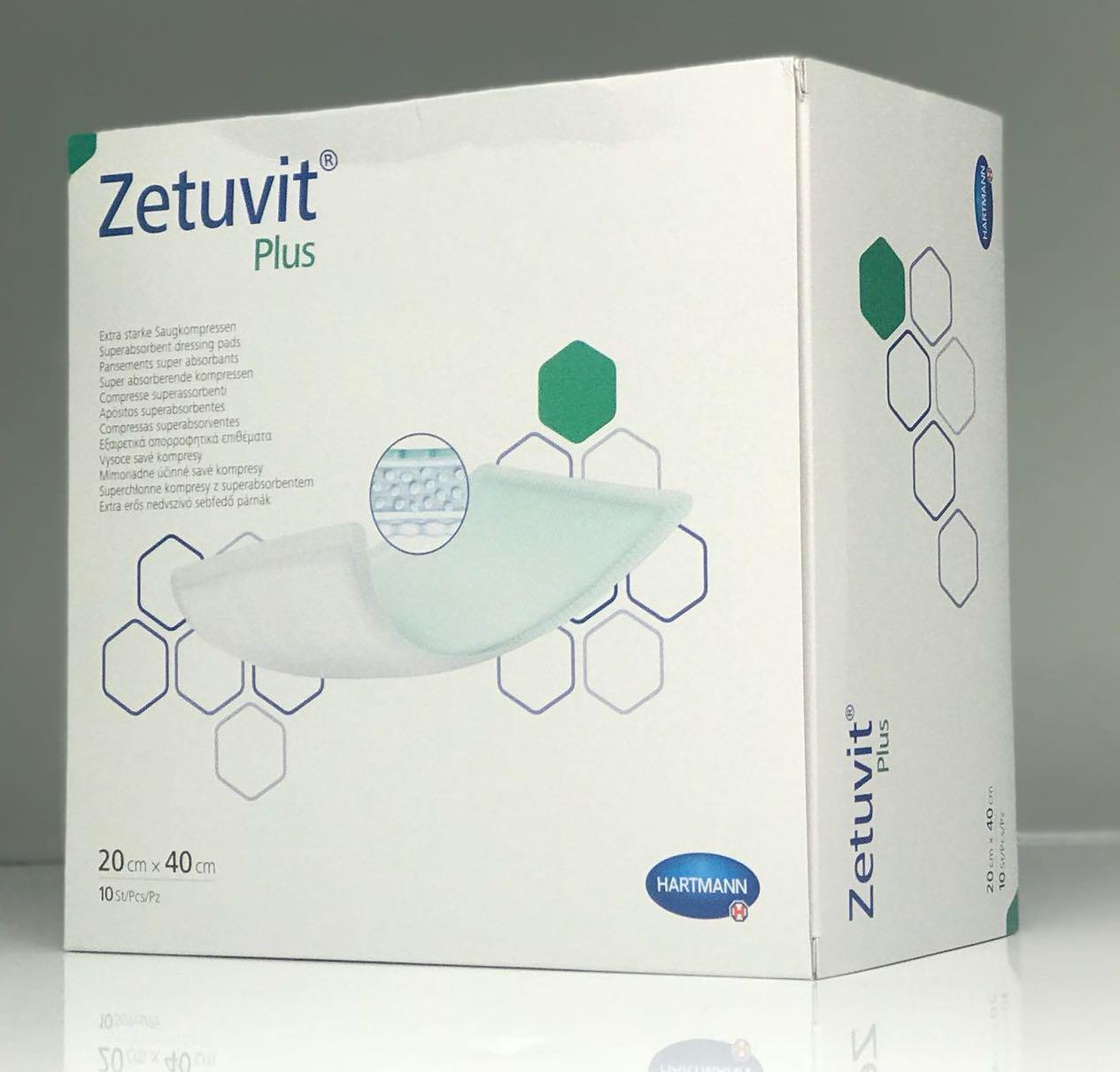 ZETUVIT PLUS 20CMx40CM, BOX 10