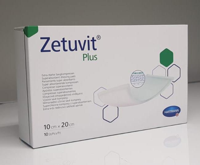 ZETUVIT PLUS 10CMx20CM, BOX 10