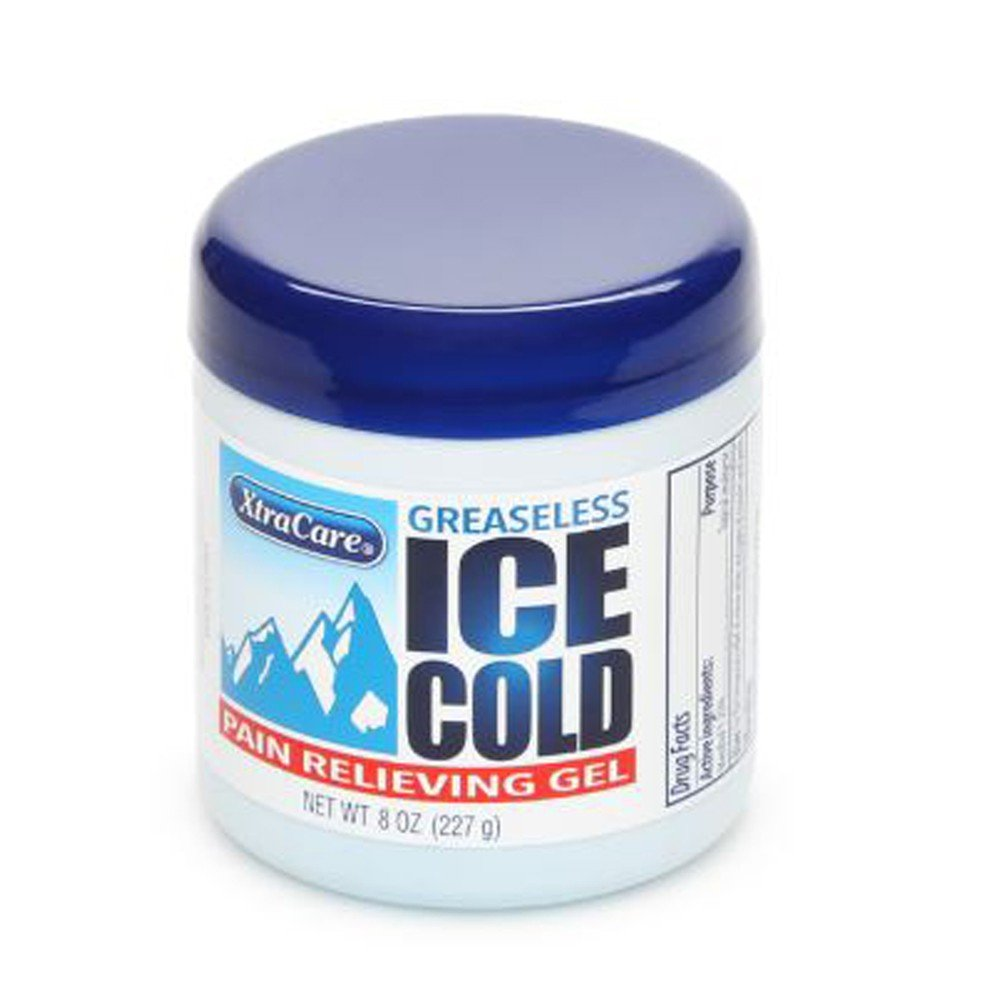 XTRACARE ICE COLD PAIN RELIEVING GEL 227G, EACH