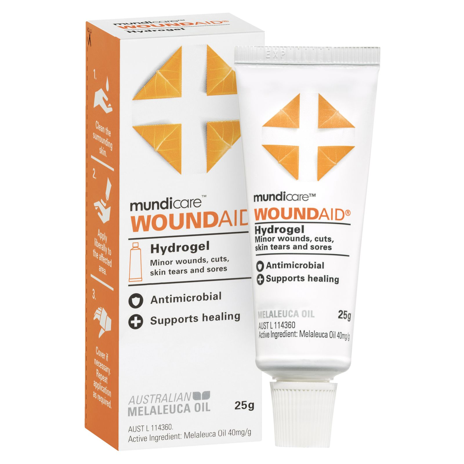 Woundaid Hydrogel 25g, each