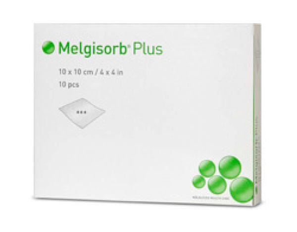 MELGISORB PLUS 10CMx10CM, BOX 10