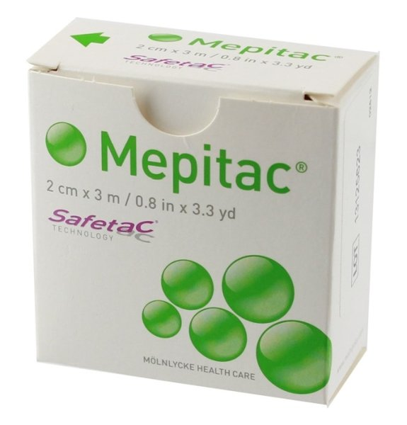 MEPITAC SILICONE TAPE 2CMx3M, EACH