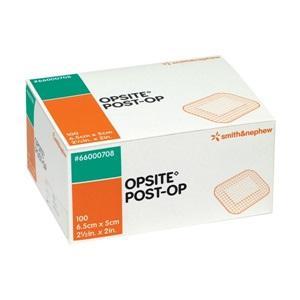 OPSITE POST-OP 6.5CMx5CM