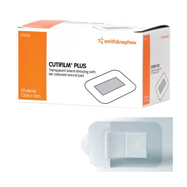 CUTIFILM PLUS 5CMx7.2CM, BOX 50