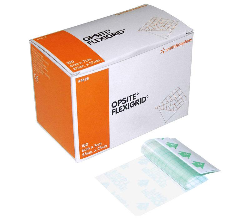 OPSITE FLEXIGRID 6CMx7CM, BOX 100