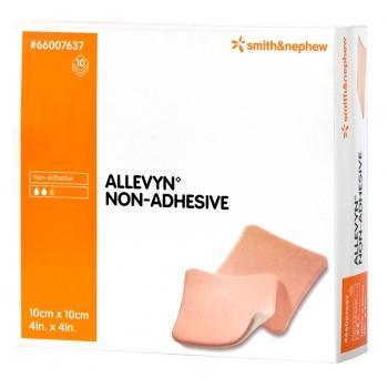 ALLEVYN NON-ADHESIVE 10CMx10CM, BOX 10