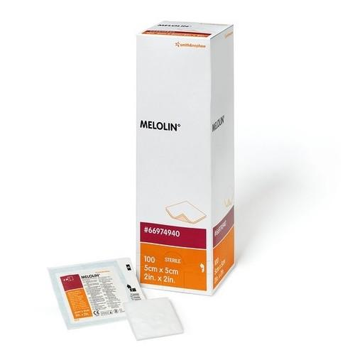MELOLIN DRESSING 5CMx5CM, BOX 100