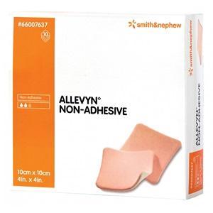 ALLEVYN NON-ADHESIVE 5CMx5CM BOX 10