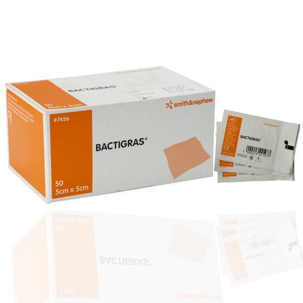 BACTIGRAS 5CMx5CM, BOX 50