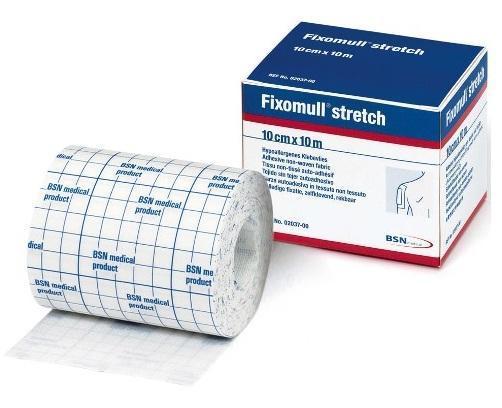 FIXOMULL Stretch 10cm X 10M White, Each
