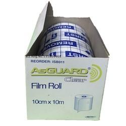 ASGUARD CLEAR FILM ROLL 10CMx10M EACH