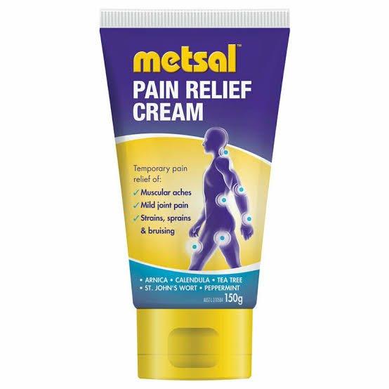 METSAL PAIN RELIEF CREAM 150G EACH