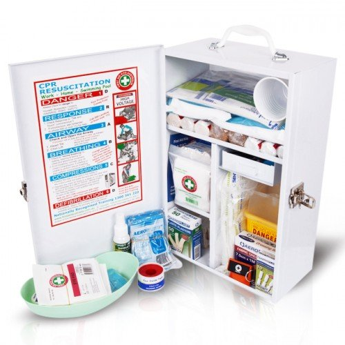 FIRST AID KIT WORKPLACE WALL MOUNTABLE, EACH