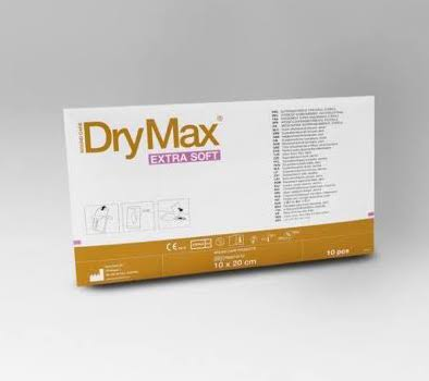 DRYMAX DRESSING EXTRA SOFT 10CMx20CM, BOX 10