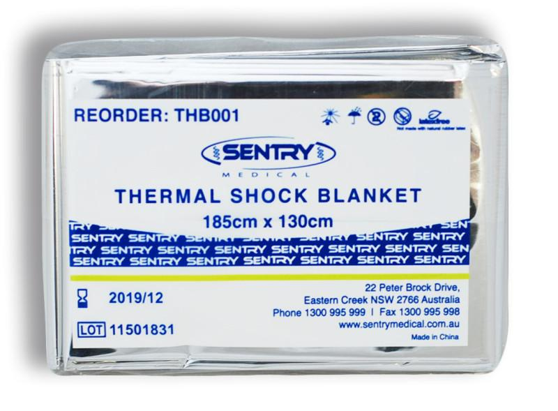 THERMAL SHOCK BLANKET 185CMx130CM, EACH